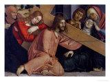 Christ Falls under the Cross Giclee Print by Francesco Bonsignori