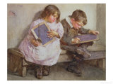 Kept In, 1905 Giclee Print by John Henry Henshall