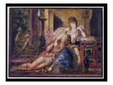 Samson and Delilah (W/C) Giclee Print by Gustave Moreau