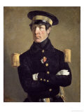 Portrait of a Naval Officer, 1845 Giclee Print by Jean-François Millet