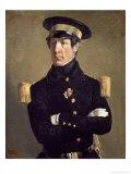 Portrait of a Naval Officer, 1845 Giclee Print by Jean-François Millet