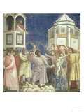 The Massacre of the Innocents, circa 1305 Giclee Print by  Giotto di Bondone
