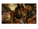 The Conversion of Saul, P.1580 Giclée-tryk af Paolo Veronese