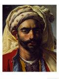 Portrait of Mustapha Giclee Print by Anne-Louis Girodet de Roussy-Trioson