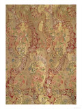Brocade with Exotic Pattern, Italian or French, circa 1700 Giclee Print