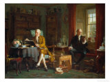 In the Library Giclee Print by John Watkins Chapman