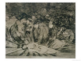 "Truth Has Died, Plate 79 of ""The Disasters of War,"" 1810-14, Published 1863 Giclee Print by Francisco de Goya"