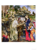 The Vision of St. Bernard, Detail of the Virgin and Angels, circa 1485 Giclee Print by Filippino Lippi