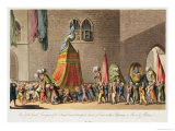 A View of the Grand Procession of the Sacred Camel Through the Streets of Cairo on Their Pilgrimage Giclee Print by Cooper Willyams