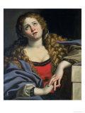 St. Mary Magdalene Giclée-tryk af  Domenichino