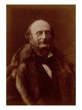 Jacques Offenbach, German Composer, Portrait Photograph Giclée-trykk av  Nadar