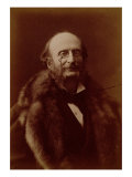 Jacques Offenbach, German Composer, Portrait Photograph Giclee Print by  Nadar