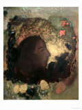 Portrait of Paul Gauguin, Painted after His Death, circa 1903-05 Giclee Print by Odilon Redon