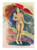 Female Tahitian Nude Giclee Print by Paul Gauguin