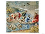 The Miraculous Draught of Fishes Giclee Print