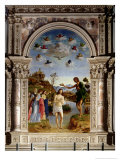 The Baptism of Christ Giclee Print by Giovanni Battista Cima Da Conegliano