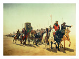 Richard Coeur De Lion on His Way to Jerusalem Giclee Print by James William Glass