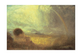 Landscape with a Rainbow Giclee Print by Joseph Theodore Deck