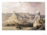 "The Citadel of Cairo, from ""Egypt and Nubia,"" Vol.3 Giclee Print by David Roberts"
