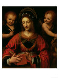 St. Catherine, 1527-31 Giclee Print by Bernardino Luini