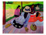 The Siesta, 1891-2 Giclee-vedos tekijn Paul Gauguin