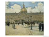 Hotel Des Invalides Giclee Print by Jean Francois Raffaelli