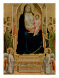 The Madonna Di Ognissanti, circa 1310 Giclee Print by  Giotto di Bondone