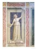 Charity, circa 1305 Giclee Print by  Giotto di Bondone