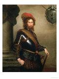 Portrait of Nicolo Raggi Giclee Print by Bernardo Strozzi