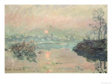 Sunset, 1880 Giclee Print by Claude Monet