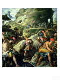 The Mine, 1572 Giclee Print by Jacopo Zucchi