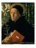 St. Dominic, 1515 Giclee Print by Giovanni Bellini