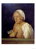 The Old Woman Giclee Print by  Giorgione