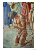 St. Peter Baptising the Neophytes, circa 1427 (Detail) Giclee Print by Tommaso Masaccio