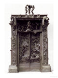 The Gates of Hell, 880-90 Giclee Print by Auguste Rodin