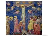 The Crucifixion, circa 1305 Giclée-tryk af  Giotto di Bondone