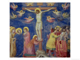 The Crucifixion, circa 1305 Premium Giclee Print by  Giotto di Bondone