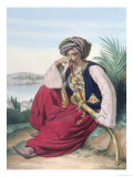 A Mameluke or Slave Soldier Giclee Print by Louis Dupr&#233;