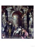 Pieta Giclée-tryk af Titian (Tiziano Vecelli)