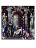 Pieta Giclee Print by  Titian (Tiziano Vecelli)