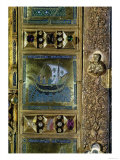 Settlement of the Body of St. Mark, Enamel Panel from the Pala D'Oro, San Marco Basilica Giclee Print