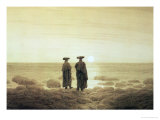 Moonrise, 1835-7 Giclee Print by Caspar David Friedrich