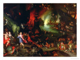 Orpheus in the Underworld, 1594 Giclee Print by Jan Brueghel the Elder