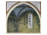 Gothic Architecture, circa 1305 Giclee Print by  Giotto di Bondone
