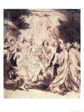 Pentecost, 1620-1 Reproduction proc&#233;d&#233; gicl&#233;e par Sir Anthony Van Dyck