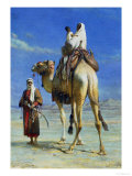A Bedoueen Family in Wady Mousa, Syrian Desert, 1859 Giclee Print by Carl Haag