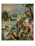 The Pearl Fishers, 1572 Reproduction procédé giclée par Alessandro Allori