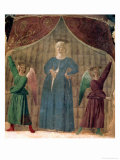 The Madonna Del Parto, circa 1460 (Pre-Restoration) Giclee Print by  Piero della Francesca