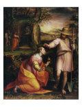 Noli Me Tangere, 1581 Giclée-tryk af Lavinia Fontana