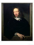 Portrait of a Man, Possibly of Robert Arnauld of Andilly, 1650 Giclee Print by Philippe De Champaigne